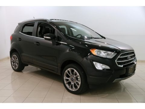 Shadow Black 2018 Ford EcoSport Titanium 4WD
