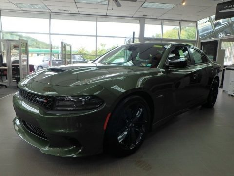 F8 Green 2019 Dodge Charger R/T