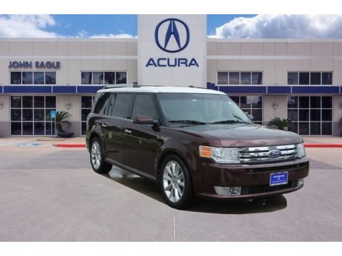 Red Candy Metallic 2010 Ford Flex SEL EcoBoost AWD