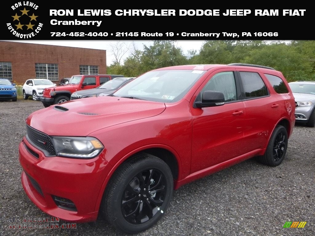 2019 Durango GT AWD - Redline 2 Coat Pearl / Black photo #1