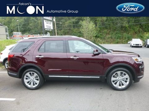 Ruby Red 2018 Ford Explorer Limited 4WD