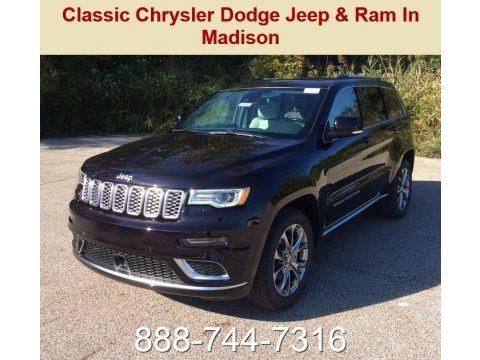 Sangria Metallic 2019 Jeep Grand Cherokee Summit 4x4