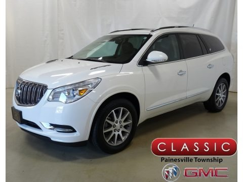 White Opal 2015 Buick Enclave Leather