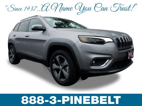 Billet Silver Metallic 2019 Jeep Cherokee Limited 4x4