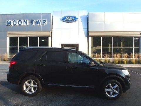 Shadow Black 2016 Ford Explorer XLT 4WD