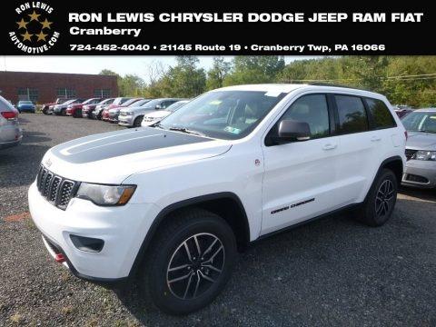 Bright White 2019 Jeep Grand Cherokee Trailhawk 4x4