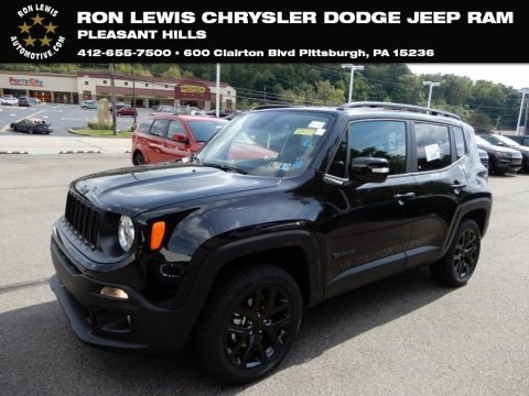 Black 2018 Jeep Renegade Latitude 4x4