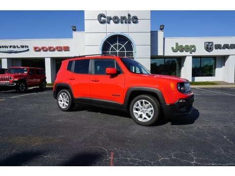 Colorado Red 2018 Jeep Renegade Latitude