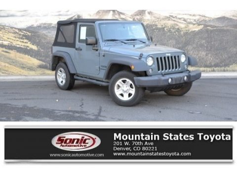 Anvil 2015 Jeep Wrangler Sport 4x4