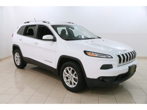 Bright White 2016 Jeep Cherokee Latitude 4x4
