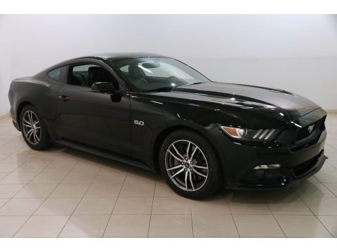 Shadow Black 2017 Ford Mustang GT Premium Coupe
