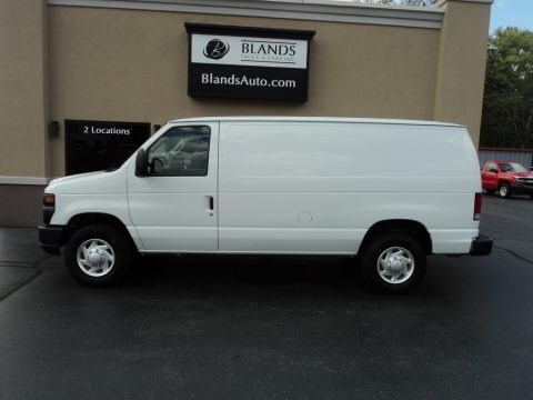 Oxford White 2014 Ford E-Series Van E250 Cargo Van
