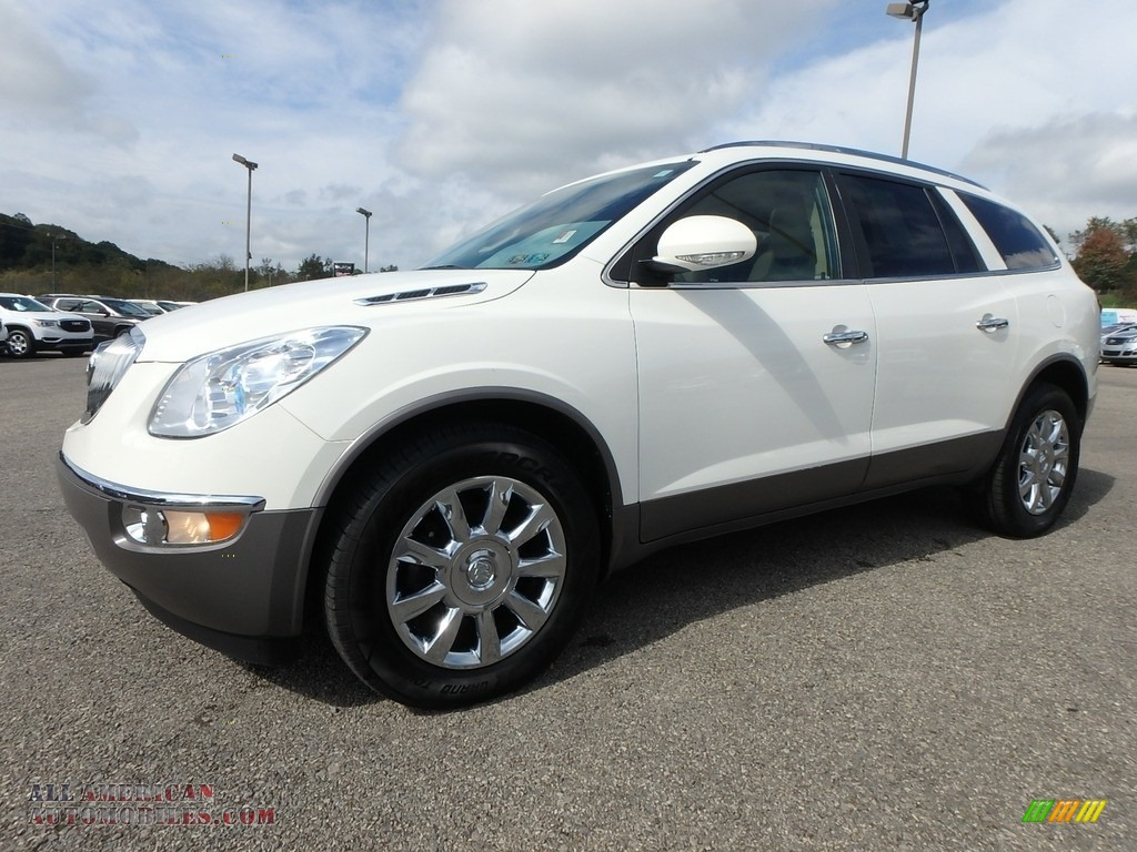 2011 Enclave CXL AWD - White Opal / Cashmere/Cocoa photo #1