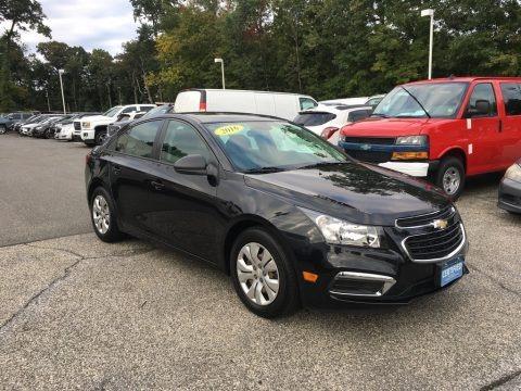 Black Granite Metallic 2016 Chevrolet Cruze Limited LS