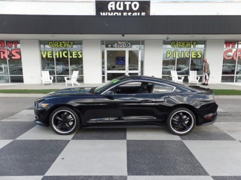 Shadow Black 2016 Ford Mustang EcoBoost Coupe