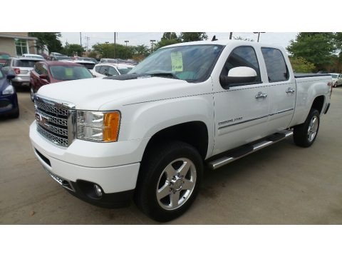 Summit White 2014 GMC Sierra 2500HD Denali Crew Cab 4x4