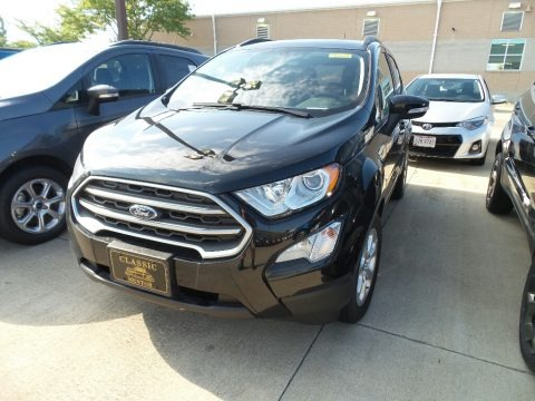 Shadow Black 2018 Ford EcoSport SE