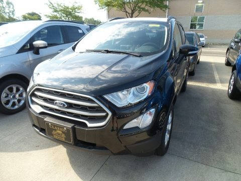 Shadow Black 2018 Ford EcoSport SE 4WD