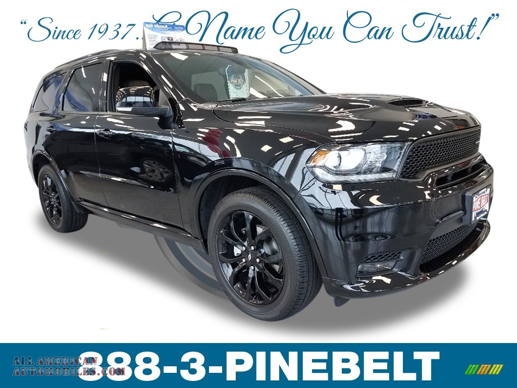 DB Black / Black Dodge Durango GT AWD