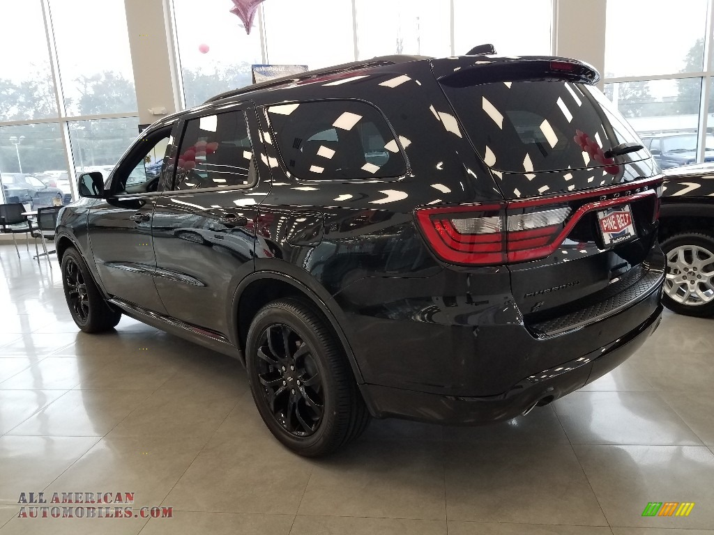 2019 Durango GT AWD - DB Black / Black photo #4
