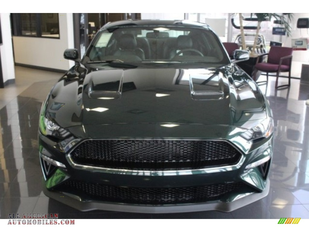2019 Mustang Bullitt - Dark Highland Green / Ebony photo #2
