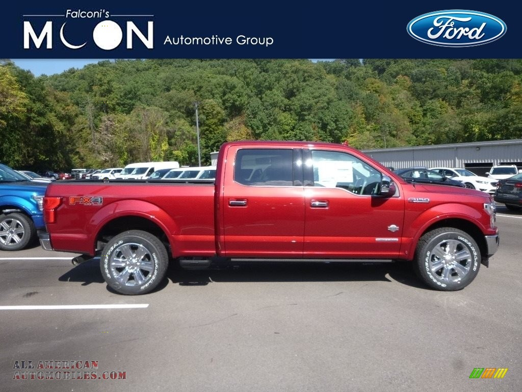 Ruby Red / King Ranch Kingsville Ford F150 King Ranch SuperCrew 4x4