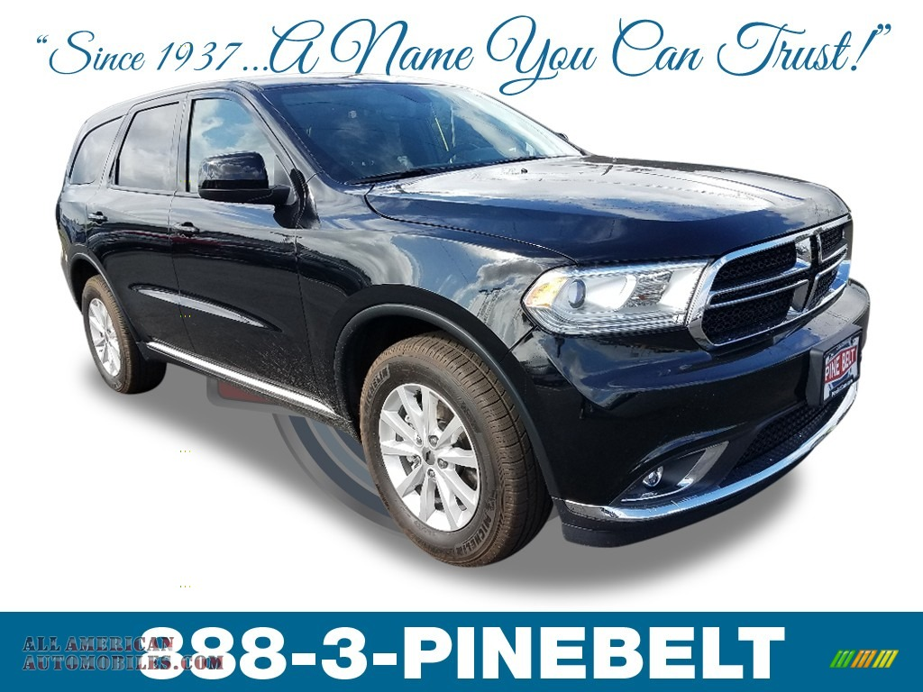 DB Black / Black Dodge Durango SXT AWD