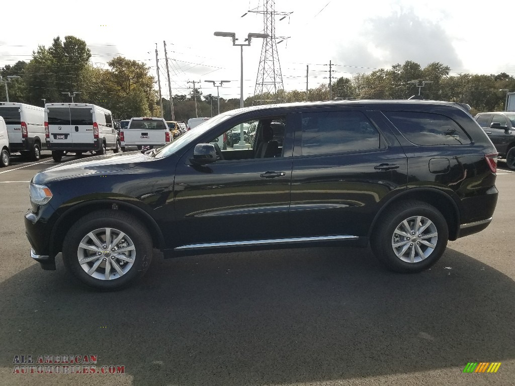 2019 Durango SXT AWD - DB Black / Black photo #3