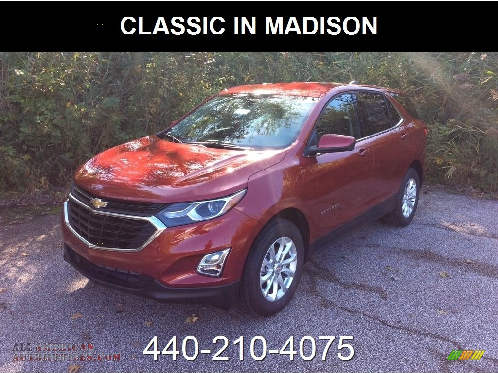 2019 Equinox LT AWD - Cajun Red Tintcoat / Jet Black photo #1