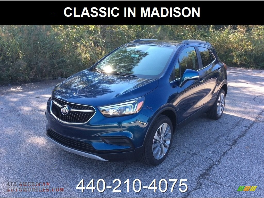 2019 Encore Preferred AWD - Deep Azure Metallic / Ebony photo #1