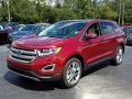 Ford Edge Titanium Ruby Red photo #1