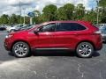 Ford Edge Titanium Ruby Red photo #2