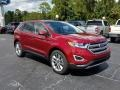 Ford Edge Titanium Ruby Red photo #7