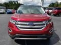 Ford Edge Titanium Ruby Red photo #8