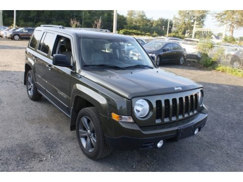 Eco Green Pearl 2015 Jeep Patriot High Altitude 4x4
