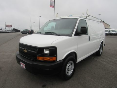 Summit White 2014 Chevrolet Express 2500 Cargo WT