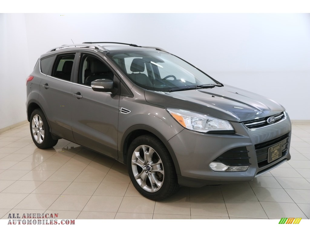 2014 Escape Titanium 2.0L EcoBoost 4WD - Sterling Gray / Charcoal Black photo #1