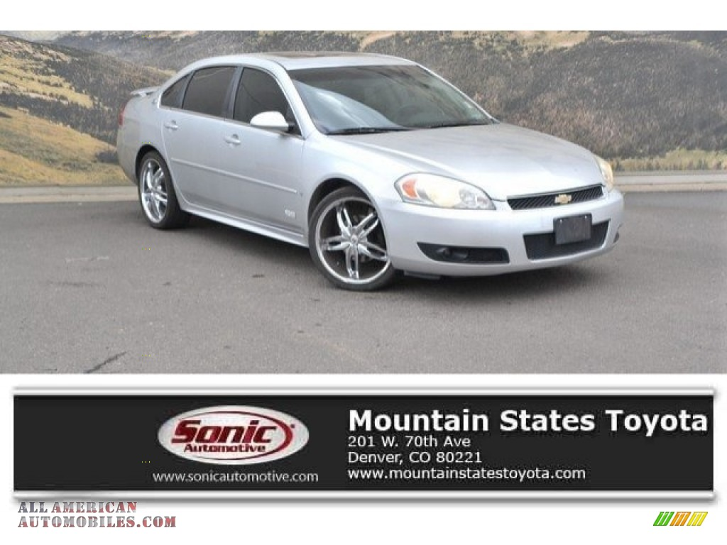 2009 Impala SS - Silver Ice Metallic / Gray photo #1