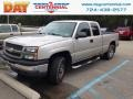 Chevrolet Silverado 1500 LS Extended Cab 4x4 Silver Birch Metallic photo #1