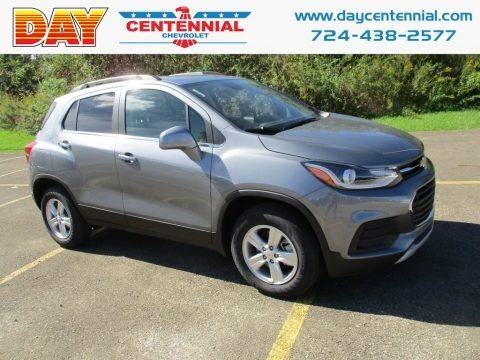Nightfall Gray Metallic 2019 Chevrolet Trax LT AWD