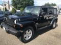 Jeep Wrangler Unlimited Sahara 4x4 Black photo #3
