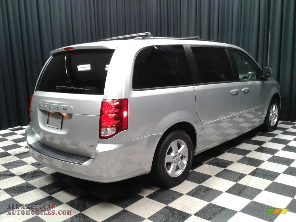 2012 Grand Caravan SXT - Bright Silver Metallic / Black/Light Graystone photo #6