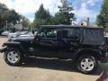 Jeep Wrangler Unlimited Sahara 4x4 Black photo #5