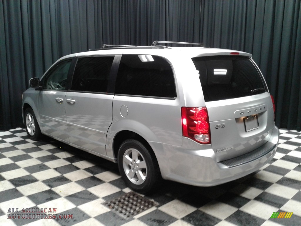 2012 Grand Caravan SXT - Bright Silver Metallic / Black/Light Graystone photo #8