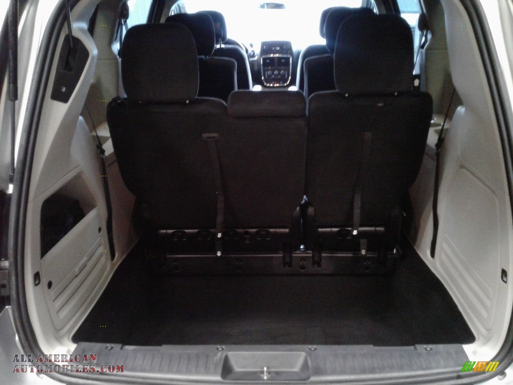 2012 Grand Caravan SXT - Bright Silver Metallic / Black/Light Graystone photo #15