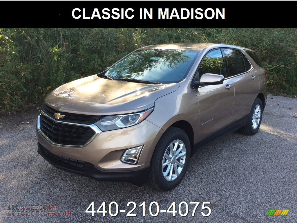 2019 Equinox LT AWD - Sandy Ridge Metallic / Jet Black photo #1
