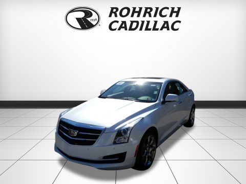 Crystal White Tricoat 2015 Cadillac ATS 2.0T Luxury AWD Sedan
