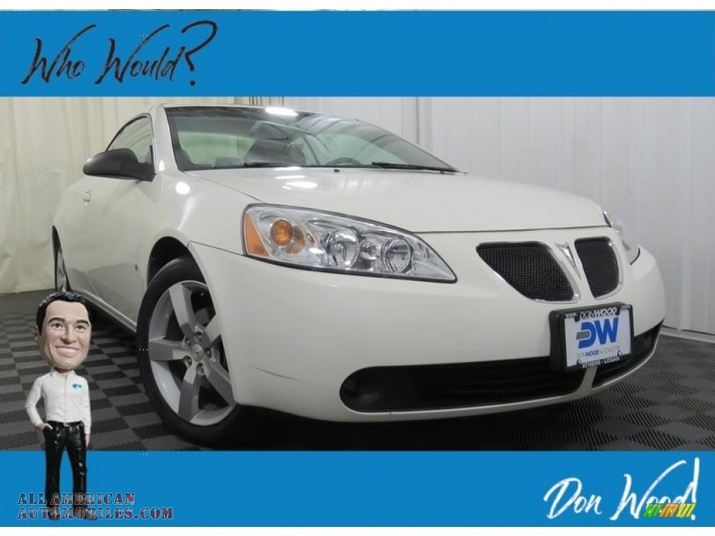 2007 G6 GT Convertible - Ivory White / Light Taupe photo #1