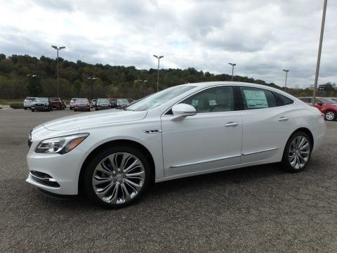 White Frost Tricoat 2019 Buick LaCrosse Essence