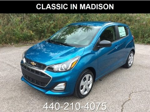 Caribbean Blue Metallic 2019 Chevrolet Spark LS